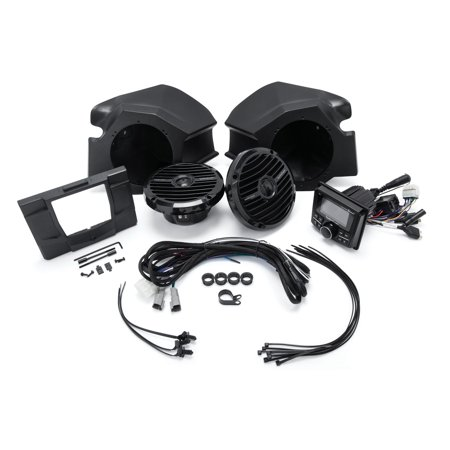 Rzr Stereo (Rockford Fosgate Stereo, Dash Kit, and Speaker Kit for Select Polaris RZR)