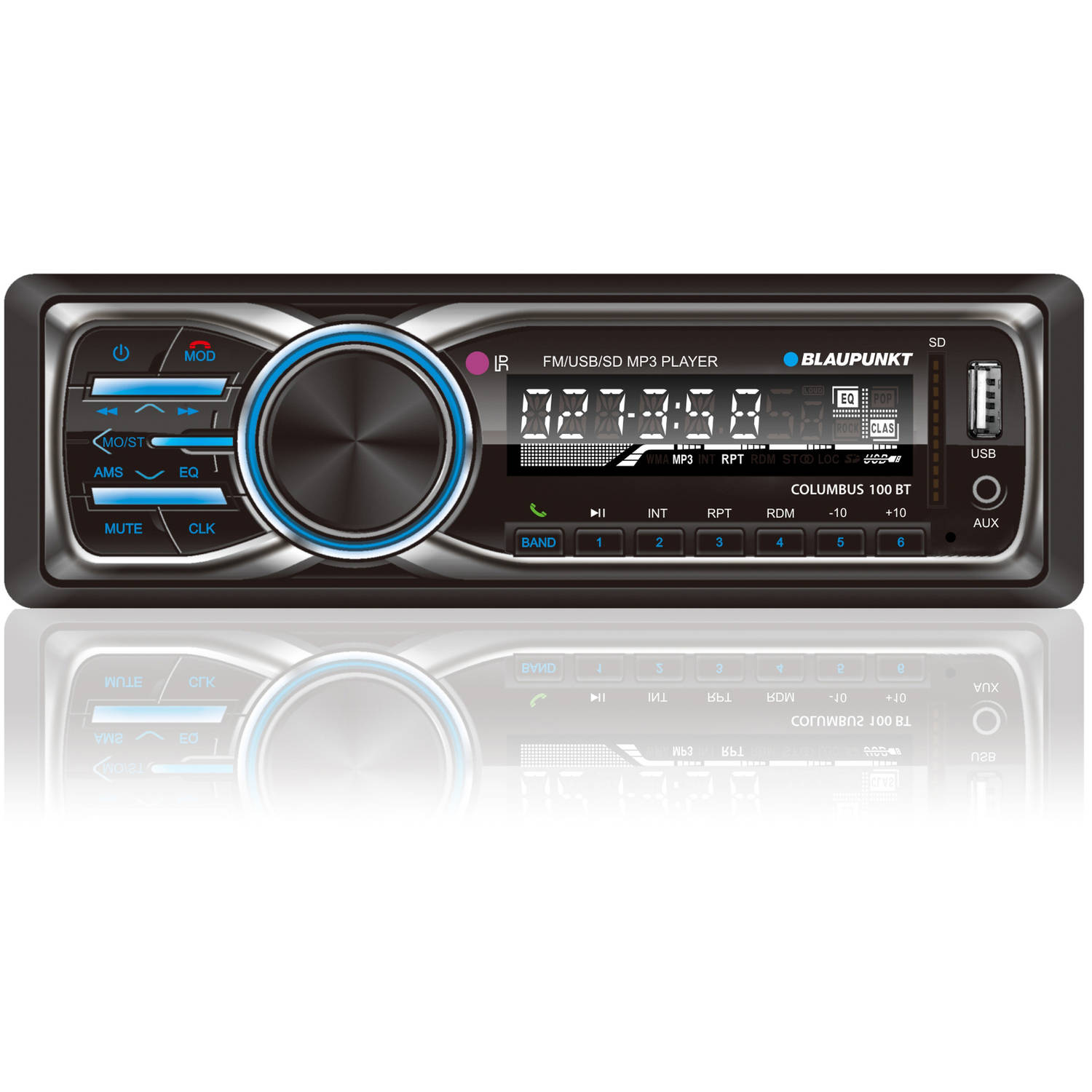 Blaupunkt MP3 and FM Stereo Receiver with Bluetooth (CLM100BT)