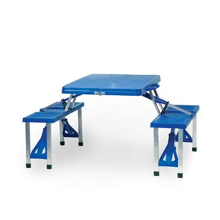 Picnic Table - Blue (University Of North Carolina Tar Heels) Digital Print - image 1 of 2