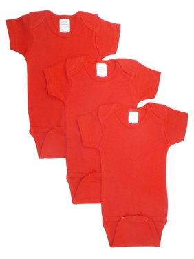 ebb321920 Product Image Red Bodysuit Onezies (Pack of 3)