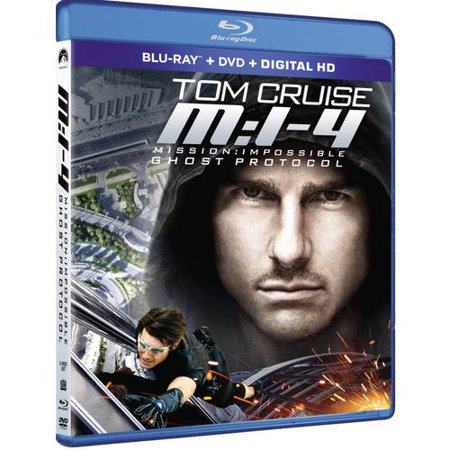 Mission  Impossible Ghost Protocol  Blu Ray   Dvd   Digital Hd