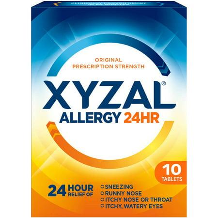 Xyzal¨ Allergy Relief Tablets - Levocetirizine Dihydrochloride - 10ct