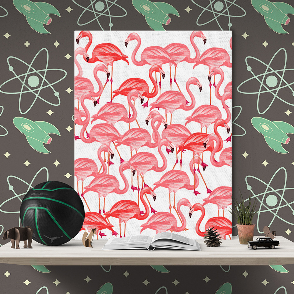 Moderna Modern Flamingos Wall Art Home Painting No Frame Bedroom Decoration Xmas Gift