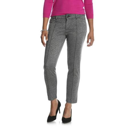 4319ff66 Lee Riders - Women's Ponte Knit Comfort Waist Ankle Pant - Walmart.com