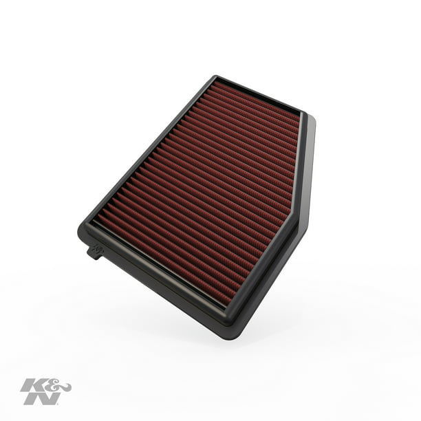 K&N Engine Air Filter: High Performance, Premium, Washable