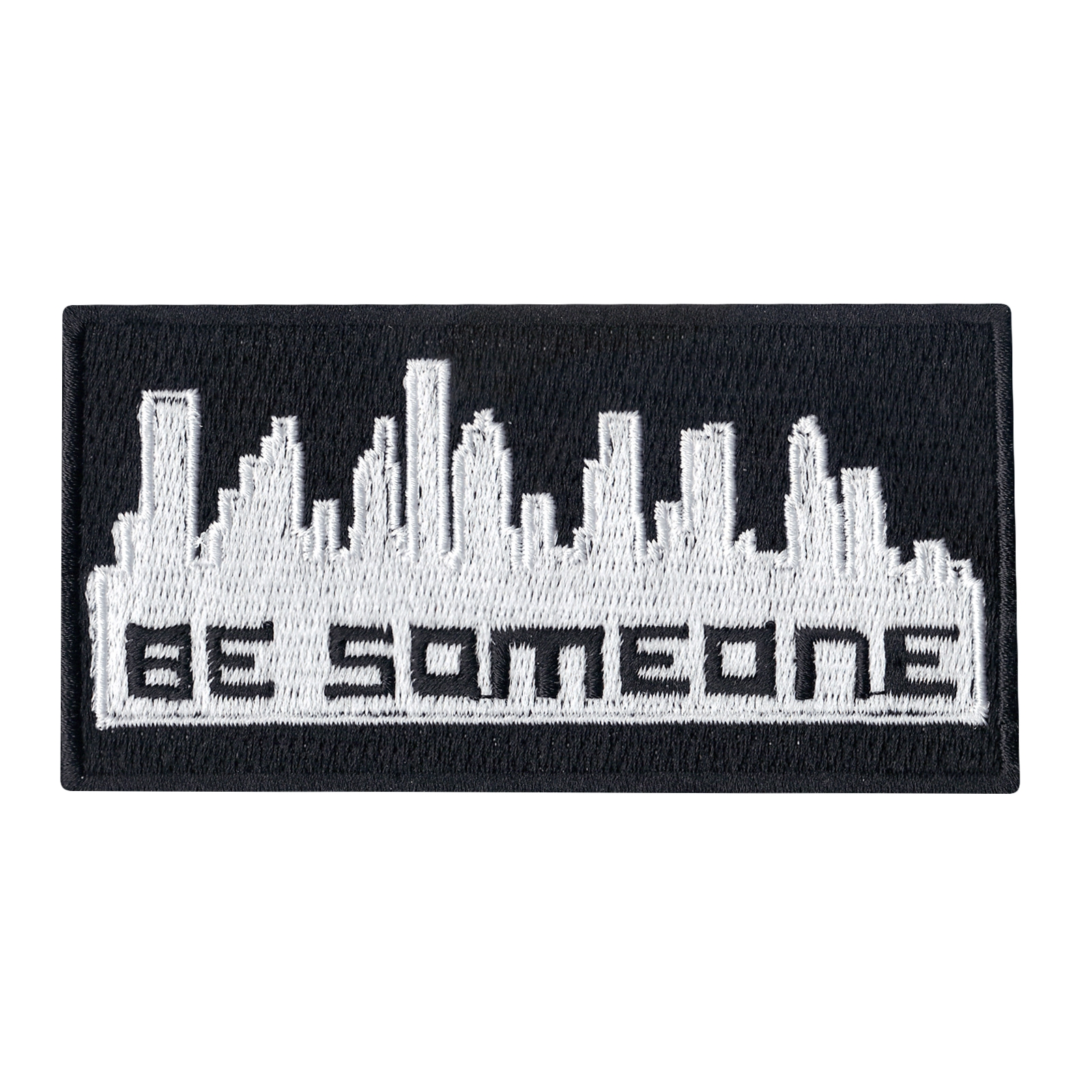 Be Someone Houston Texas Graffiti Iron on Patch