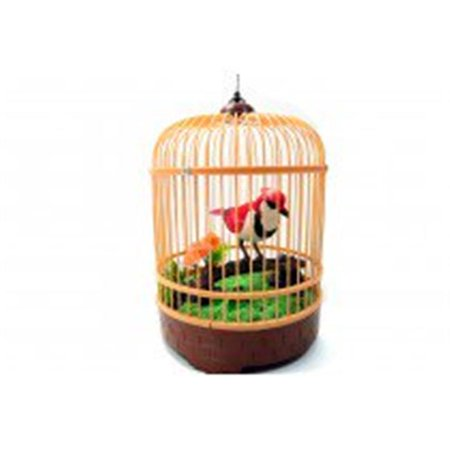 Singing & Chirping Bird in Cage - Realistic Sounds