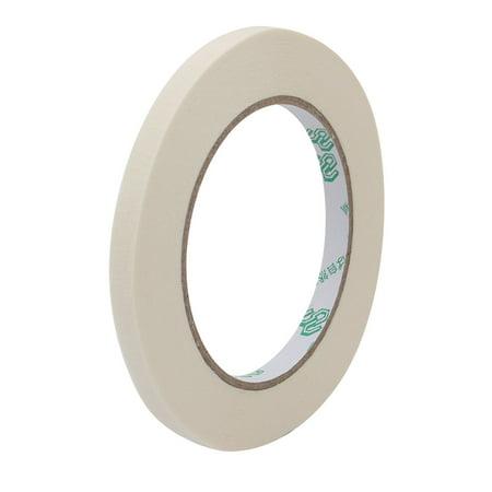 Crepe Paper General Purpose Masking Tape Beige 8mm Wide x 50 Meters Long