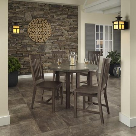 home styles concrete chic 5 piece dining set by