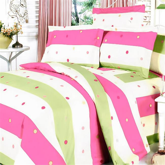 MF07-1/CFR01-1 Colorful Life Luxury 6 Piece Twin Mega Comforter Set Combo 300GSM