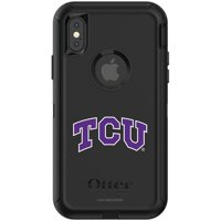 TCU Horned Frogs OtterBox iPhone X/XS Defender Phone Case - Black