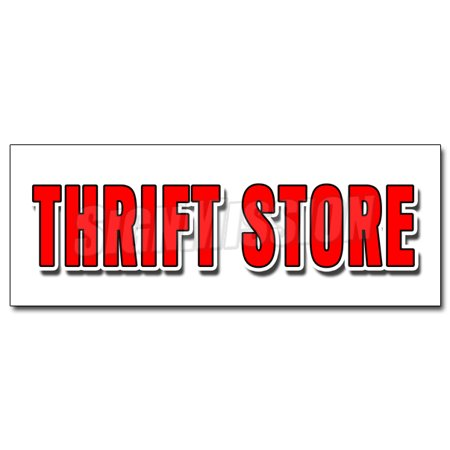 12   Thrift Store Decal Sticker Clothing Furniture Household Clothes Appliance