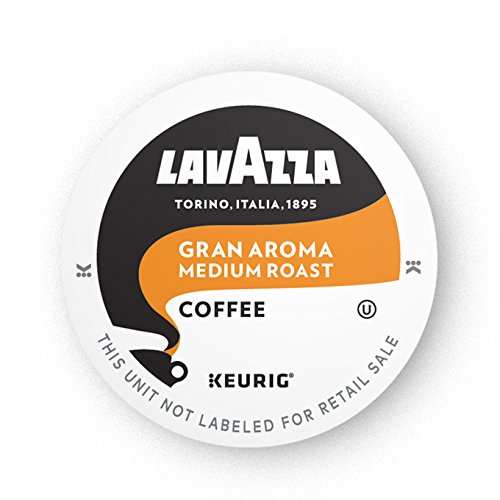 Lavazza Gran Aroma Single-Serve Coffee K-Cups for Keurig Brewer, 16 Count
