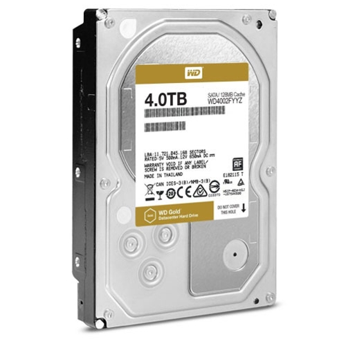 WD Gold Datacenter 4TB HDD 7200RPM SATA III Internal Hard Drive WD4002FYYZ - OEM