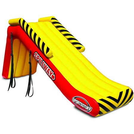 Sportsstuff Spillway Inflatable Pontoon Boat Slide