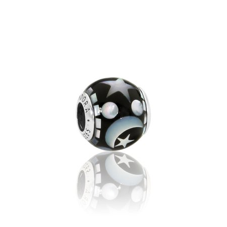 1300c888029 PANDORA - Pandora Celestial Mosaic Multicolored Charm with Mother-of-Pearl  796400MMB - Walmart.com