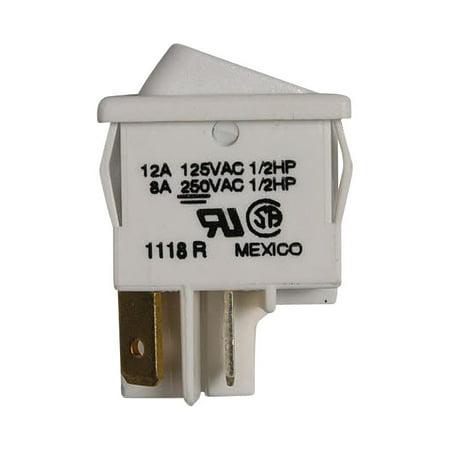 WB24T10167 GE Range Switch Rocker Elem (wh)