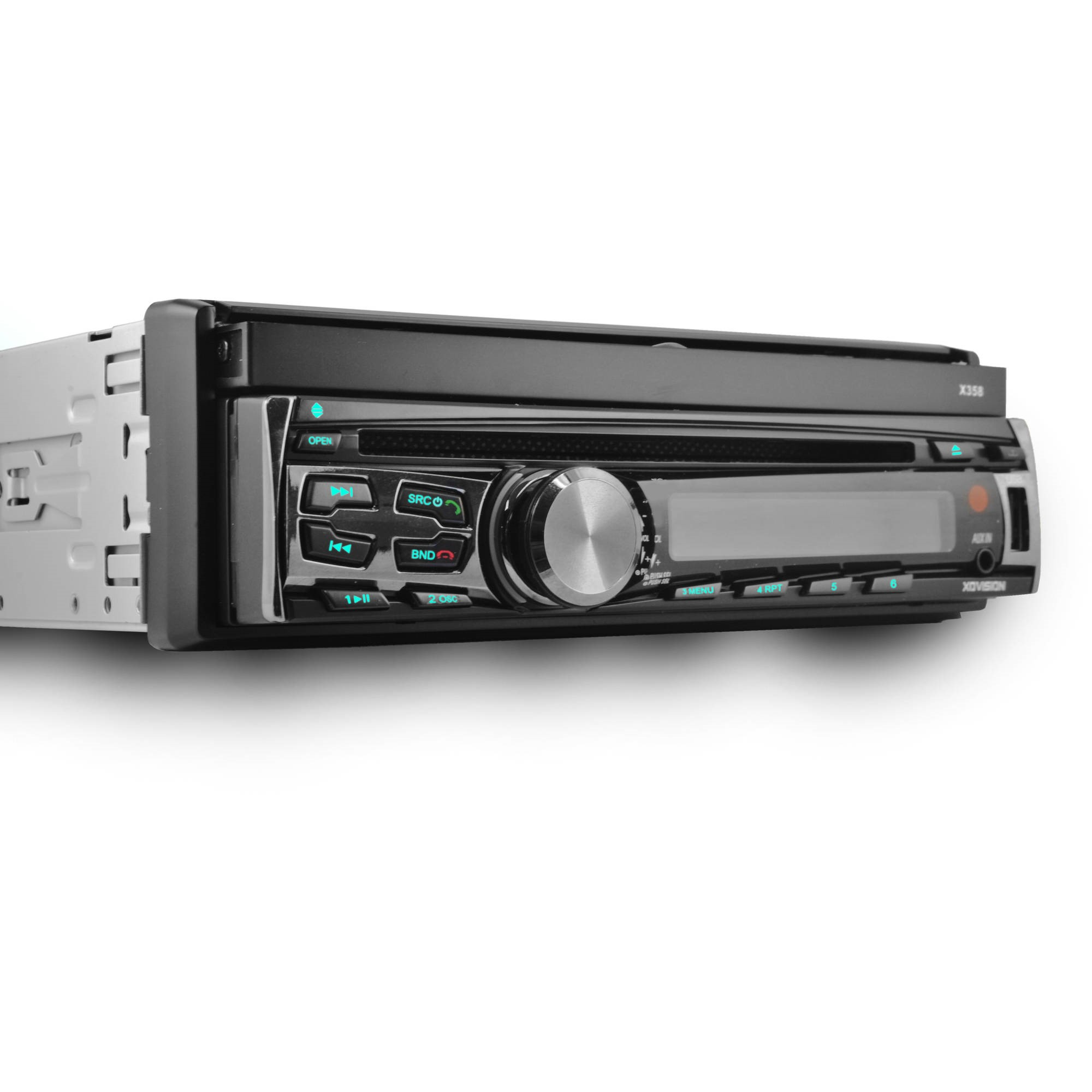 xo vision x358 7 single din in dash dvd receiver with bluetooth rh walmart com