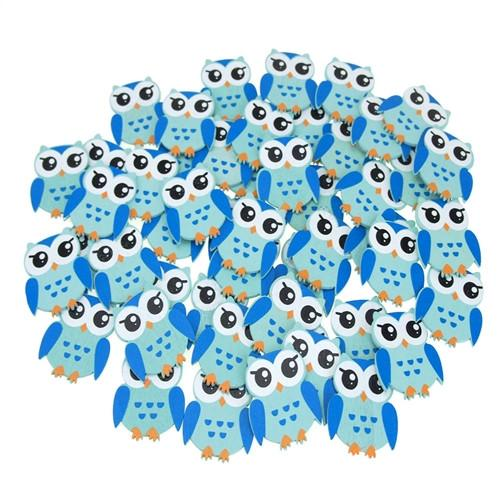Small Animal Wooden Baby Favors, 1-1/4-Inch