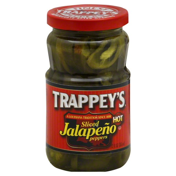 B & G Foods Trappeys  Jalapeno Peppers, 12 oz