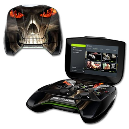 MightySkins Protective Vinyl Skin Decal for NVIDIA Shield Portable cover  wrap skins sticker Evil Reaper