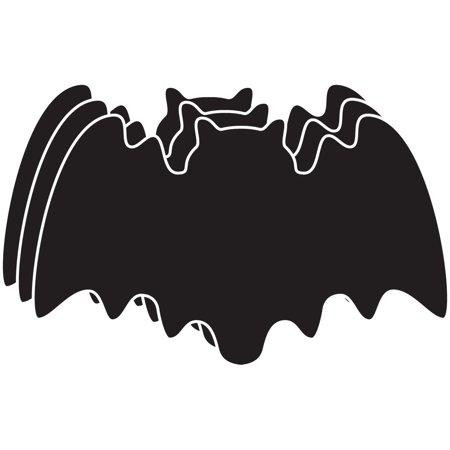 Large Single Color Creative Foam Cut-Outs - Bat (Bat Cut Outs)