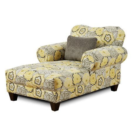 Chelsea Home Carlen Indoor Chaise Lounge Walmart Com