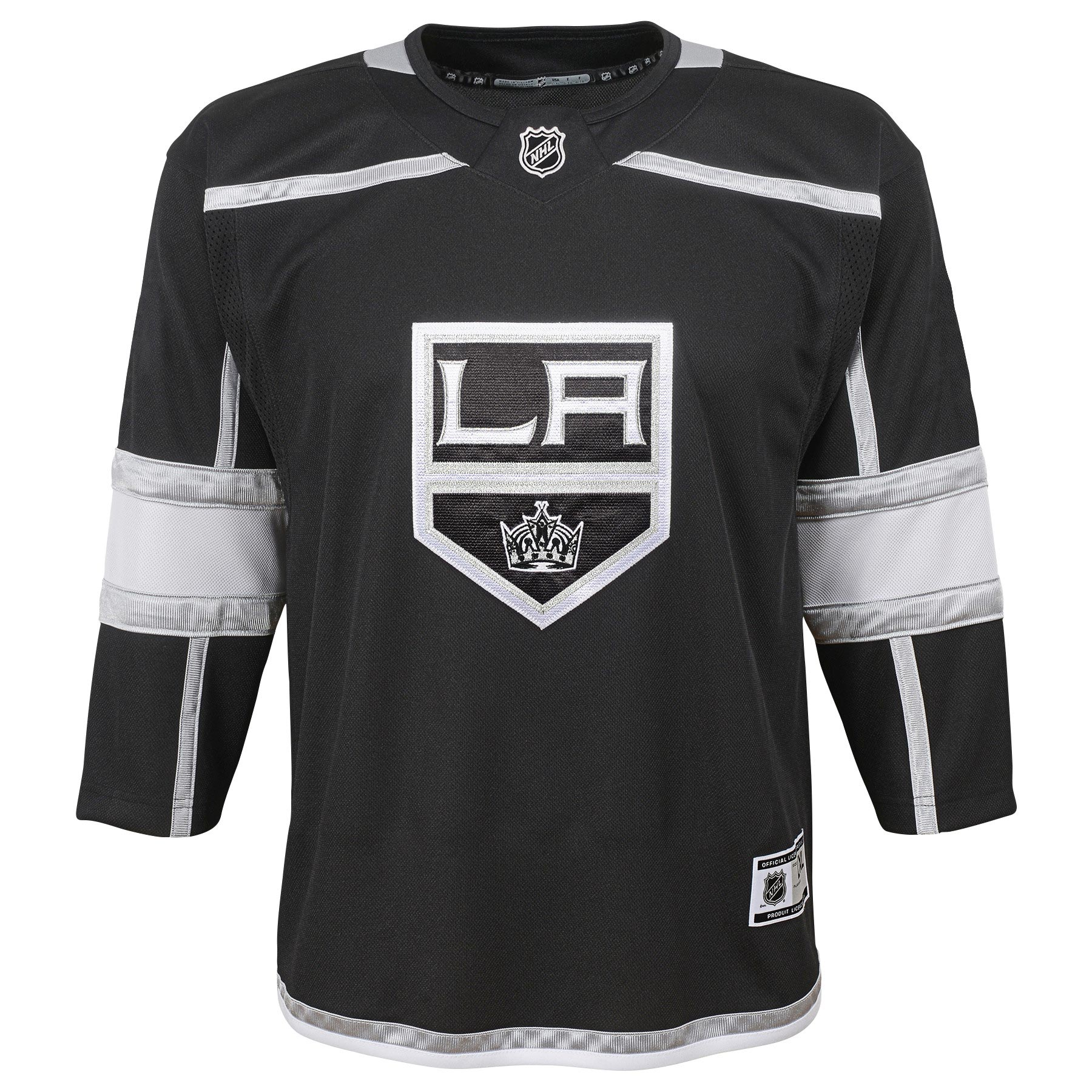 d6586385496 ... new arrivals los angeles kings nhl premier youth replica home hockey jersey  nhl team apparel 76ddc