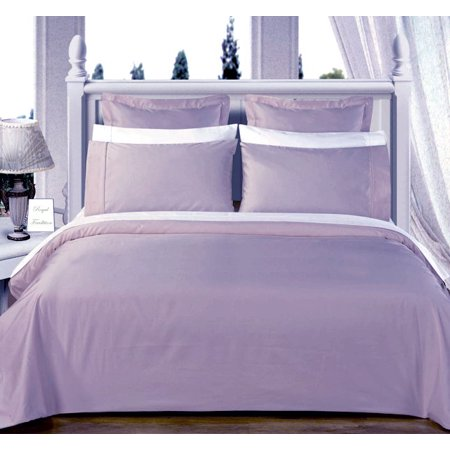 Blue Full Queen Size Solid Down Alternative 4 Pc Comforter Set 100 Egyptian Cotton 550 Thread Count