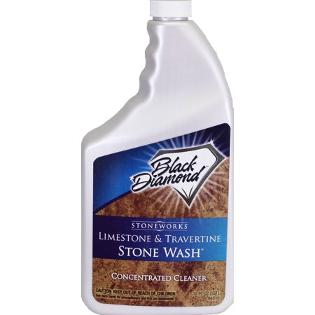 LIMESTONE AND TRAVERTINE CLEANER: Black Diamond Stoneworks -