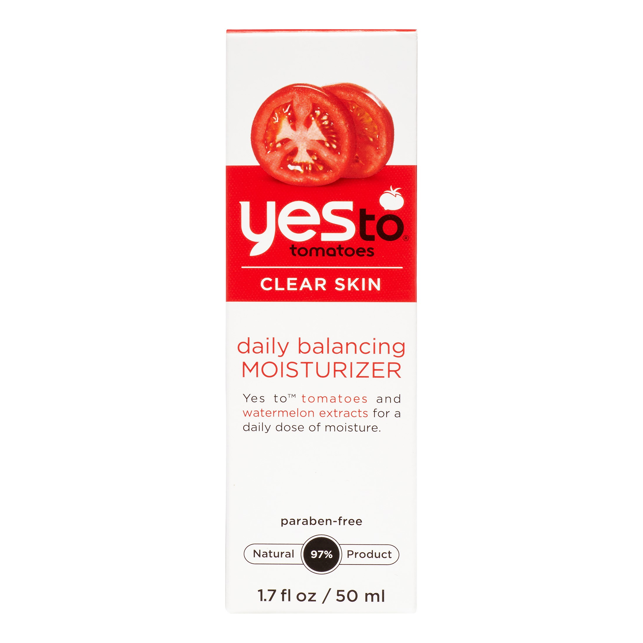 Yes To Tomatoes Clear Skin Daily Balancing Moisturizer, 1.7 fl oz