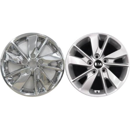 Pacific RT 7464PC 17 in. Chrome Wheel Skin Set for 2014-2015 Kia Sorrento - image 1 de 1