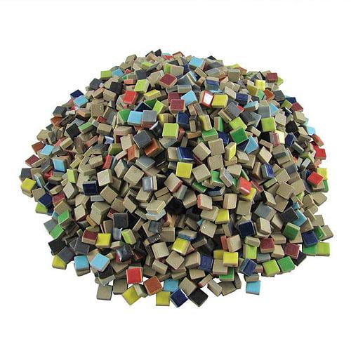 """Sax Special Bulk Porcelain Tiles, 0.37"""", 5 lb Bag"""