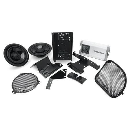 Rockford Fosgate Harley Davidson Street Glide Road Glide Front Speaker Audio (Best Speakers For Street Glide)