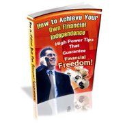 How to Achieve Your Own Financial Independence - eBook