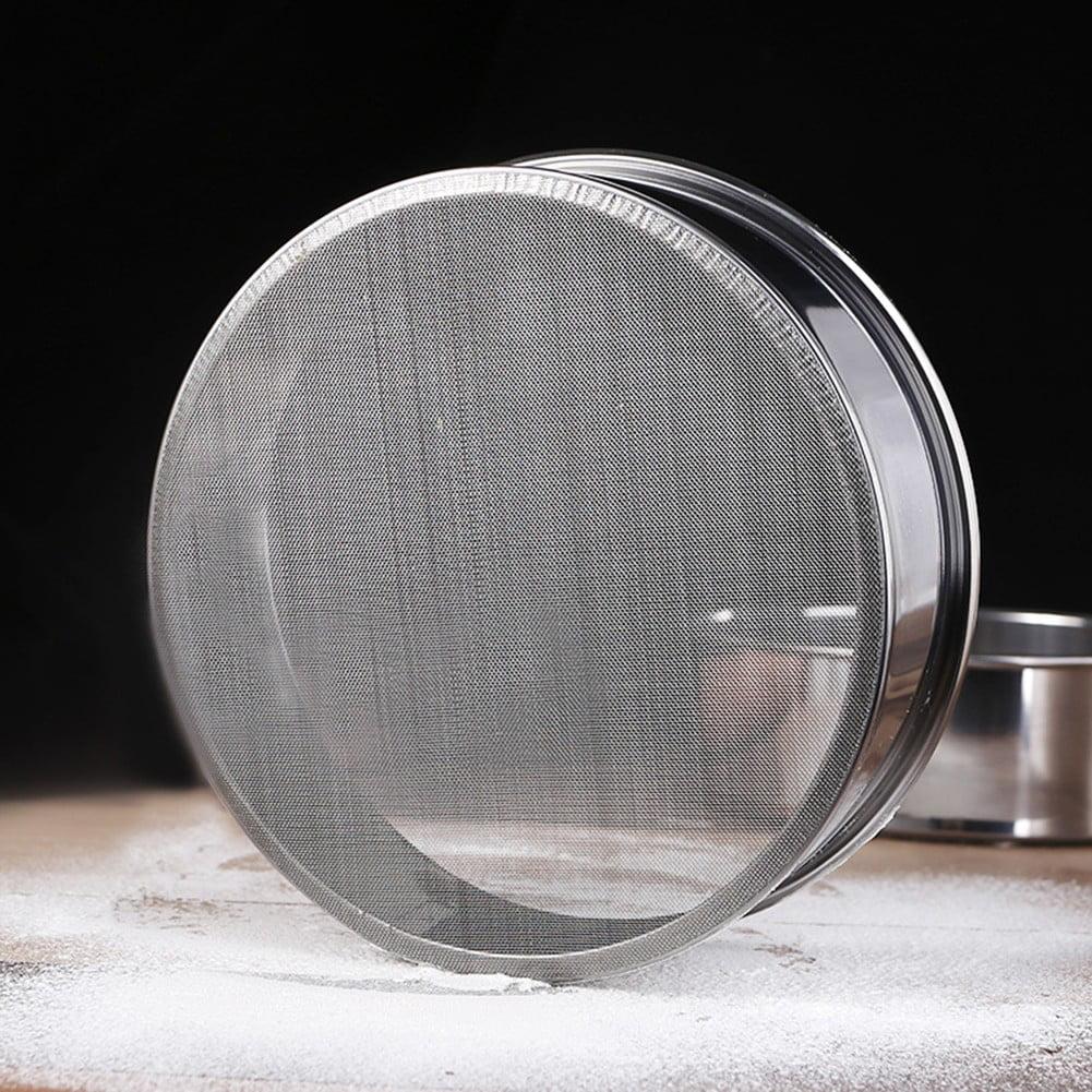 Details about  /Stainless Steel Flour Sieve Kitchen Fine Mesh//Oil Strainer Sifter Sugar Filter