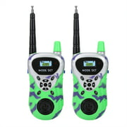 2pcs Walkie Talkies for Kids Radios Electronic Interphone Walkie Talkie for Kids Boys Outdoor Girls Boys Toy Gift