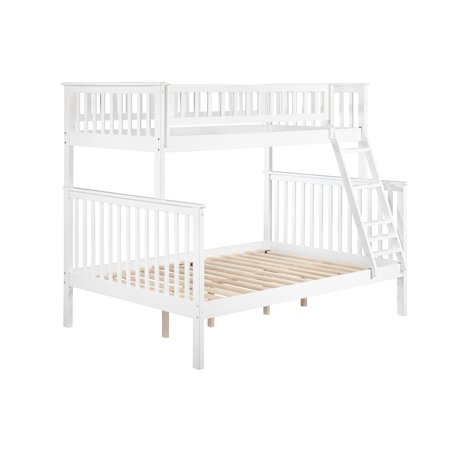 Woodland Bunk Bed Twin Over Full In Multiple Colors And