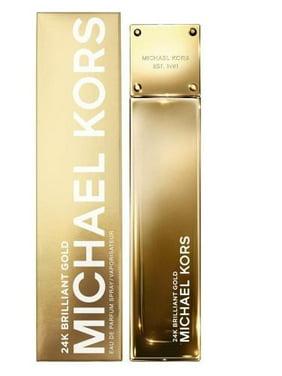 Michael Kors 24K Brilliant Gold Eau De Parfum Spray For Women 3.4 Oz
