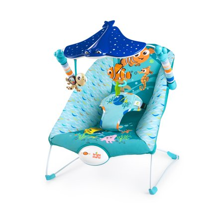 9538c85fbeec Disney Baby Finding Nemo Bouncer Seat - See   Swim - from Bright ...