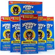 Cat Litter Box Liners 5 per Box Pack of 6, USA, Brand JONNY CAT