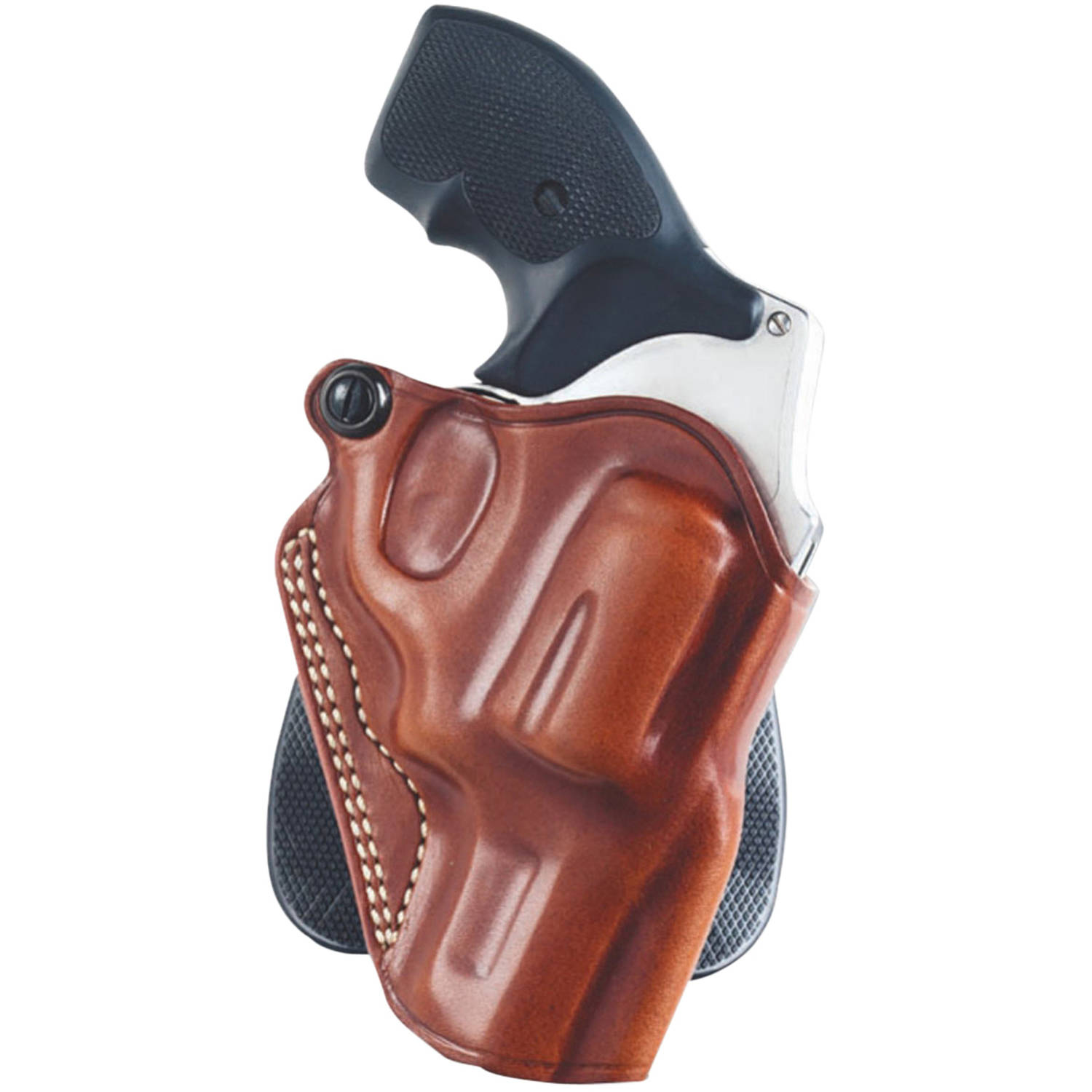 "Galco SPD604 Speed Paddle RH Fits Belts up to 1.75"" Tan Saddle Leather by GALCO INTERNATIONAL"