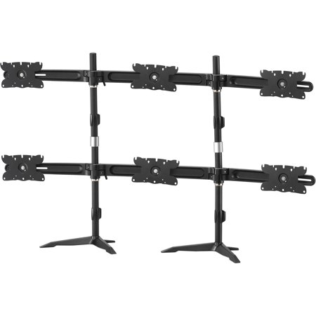 Image of Amer.Com AMR6S32 Heavy-Duty 6-Monitor Desk Stand