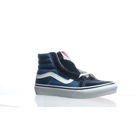 Vans Womens Sk8-Hi Blue Skateboarding Shoes Size 6.5](Vans Sizing Chart)