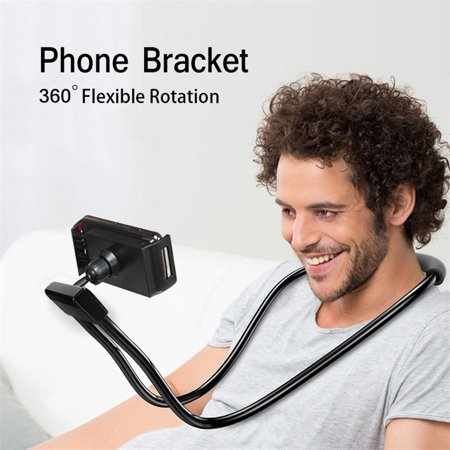 Mobile phone holder stand,Flexible Mobile Phone Holder Hanging Neck Lazy Necklace Bracket Smartphone Holder Stand for iPhone Samsung,Huawei,Xiaomi