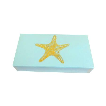 Progress Lighting Matches (The Joy of Light Designer Matches Gold Foiled Starfish On Light Blue  Embossed Matte 4