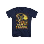 Flash Gordon 1930's Comic StripSpace Explosion Adult T-Shirt Tee