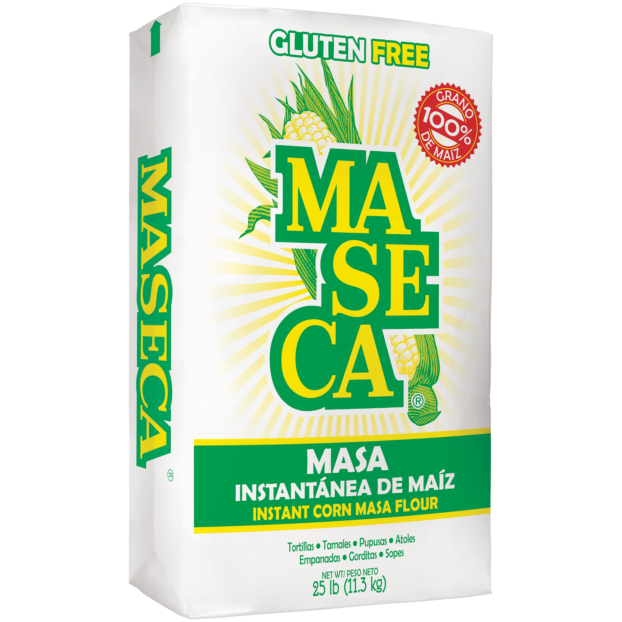 Gluten free masa