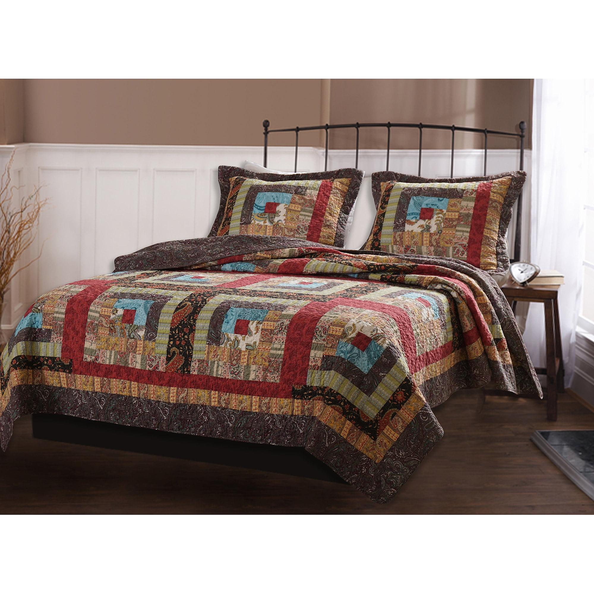 Global Trends Calistoga Quilt Bedding Set Walmart Com
