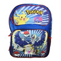 """Pokemon Go Pikachu 16"""" Large School Backpack For Kids Boys"""